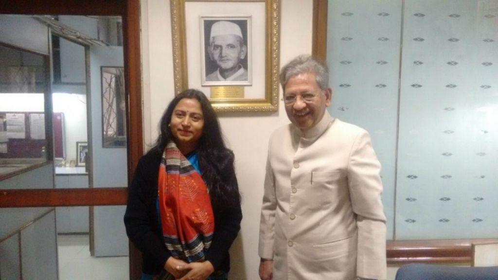 Meeting with Union Minister