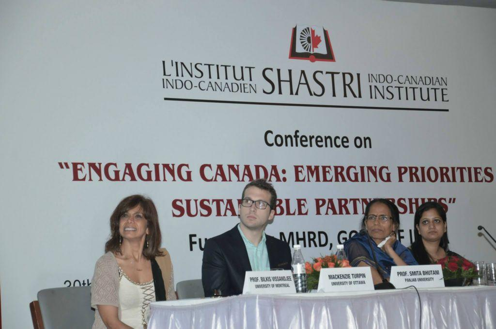 CONFERENCE ON ENGAGING CANADA: EMERGING PRIORITIES FOR SUSTAINABLE PARTNERSHIPS HELD ON MAY 30, 2014