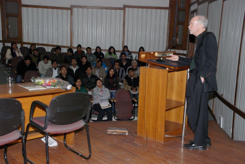 Shastri-Pearson Lecture, South Campus, University of Delhi, 19 January 2012