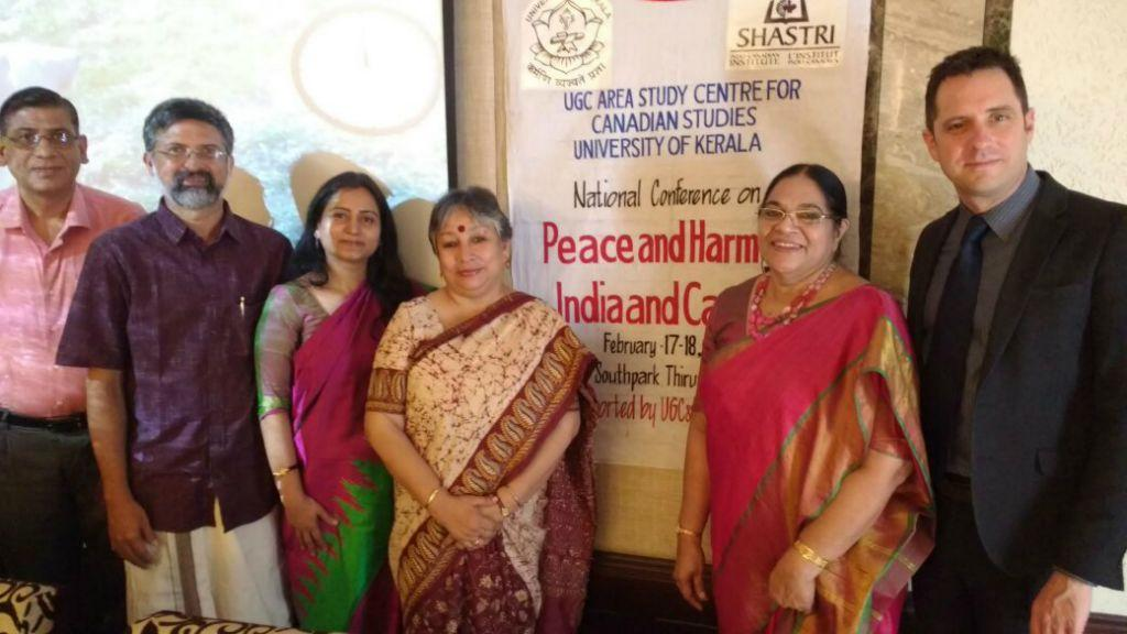conference on 'Peace and Harmony: India and Canada
