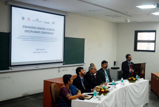 Engaging Canada at IIM, Kolkata on 3rd-4th December 2011